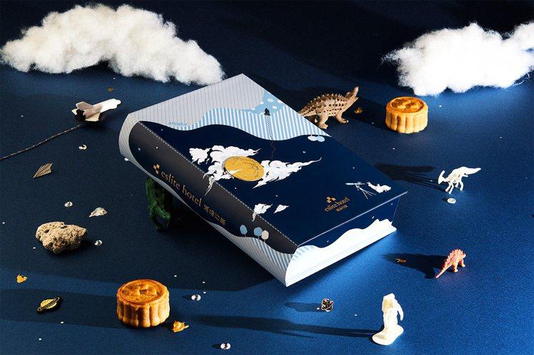 誠品行旅首度邀請旅英時裝設計師詹朴聯名打造包裝禮盒。圖/誠品行旅提供