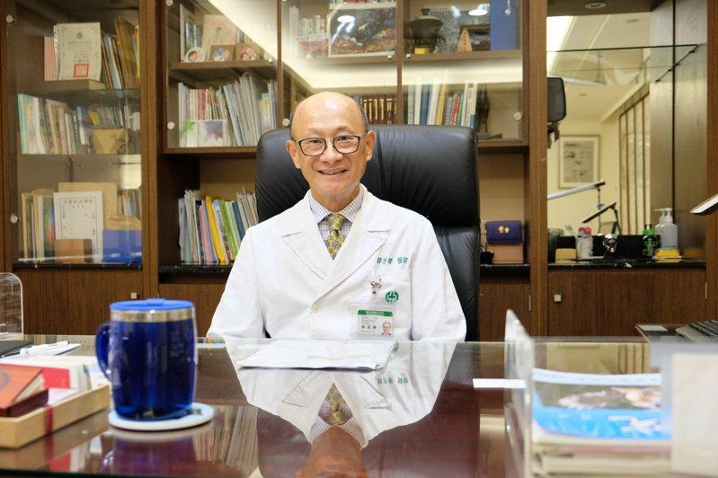 林芳郁是著名心臟外科權威,現為亞東醫院院長,他對於生死看得很開,老早就規畫好要辦一場快樂的告別式。記者張曼蘋/攝影