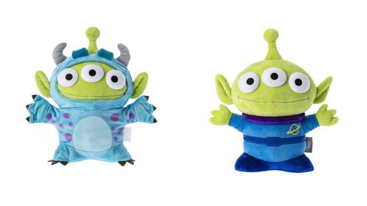 脫掉變裝造型的三眼怪玩偶。圖/HOLA提供