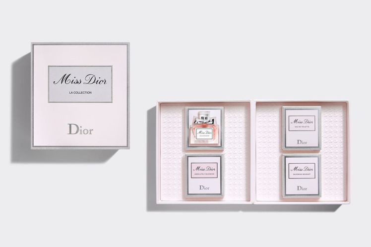 迪奧線上旗艦店獨賣:Miss Dior旅行精選組/2,200元。圖/迪奧提供