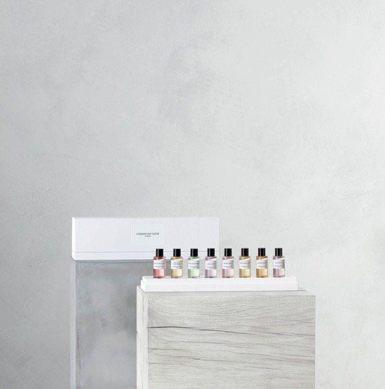 迪奧線上旗艦店獨賣:迪奧香氛世家精巧版香氛8件組/5,800元。圖/迪奧提供