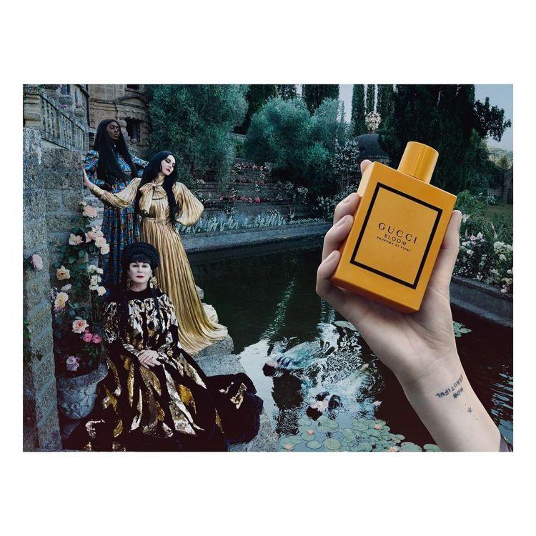 廣告找來GUCCI珠寶腕表品牌大使Florence Welch、奧斯卡女星安潔莉...