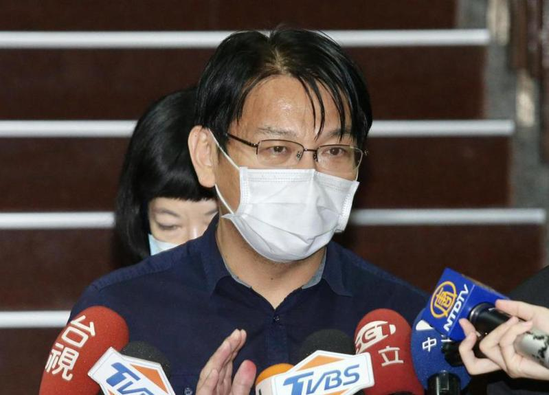 時代力量前黨主席徐永明稍早宣布,為了時力大局著想,即刻退出時代力量。圖/聯合報系資料照片