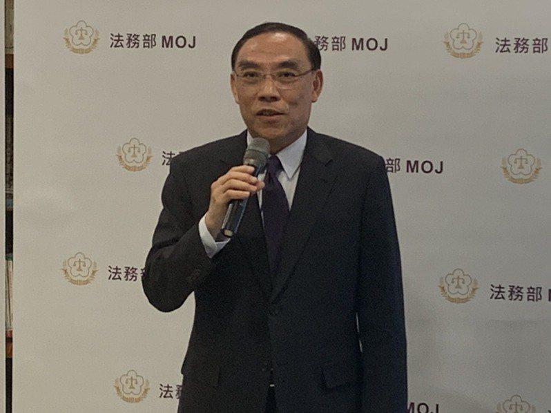 立委貪瀆案收網前走漏風聲?蔡清祥:法務部不涉入個案。記者王聖藜/攝影