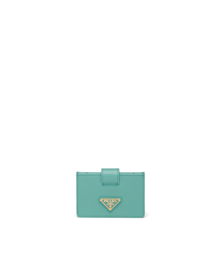 Saffiano皮革卡片夾,12,000元。圖/PRADA提供