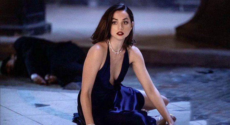 安娜迪阿瑪斯是最新007電影中的美麗「龐德女郎」。圖/摘自imdb