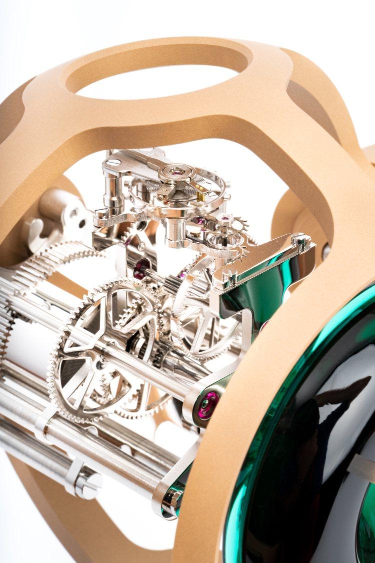 由L'Épée 1839打造、138枚零件構成的八日鍊手上鍊Cal.1855機芯...