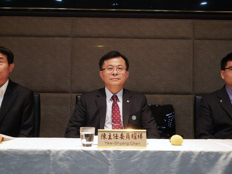 NCC新任主委陳耀祥。記者黃有容/攝