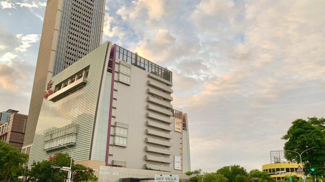 「市政一號院」基地位於台中市正七期60米市政路上。 記者宋健生/攝影