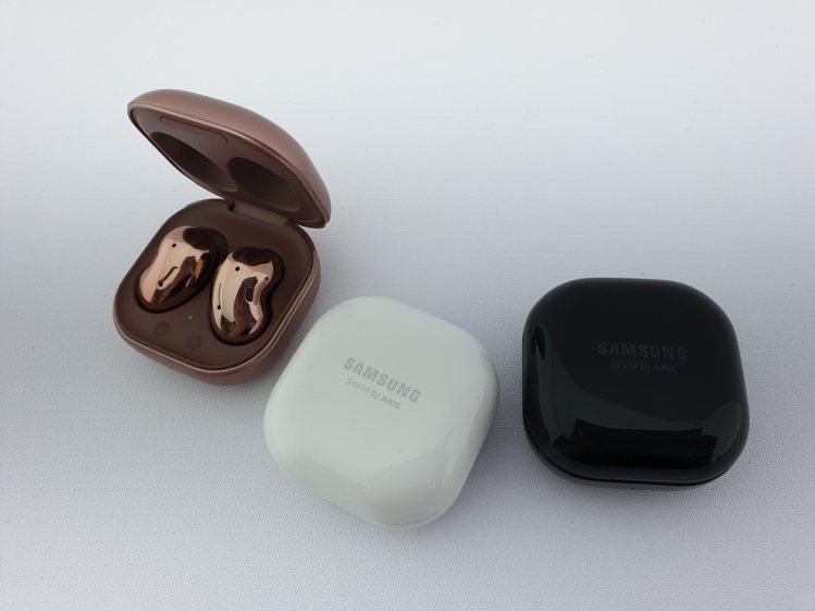 Samsung Galaxy Buds Live真無線藍牙耳機採用以珠寶盒為設計...