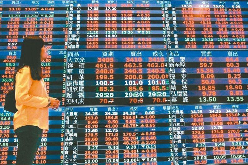 台股大漲之下,7月底外資持有新台幣資產近5000億美元。圖/聯合報系資料照片
