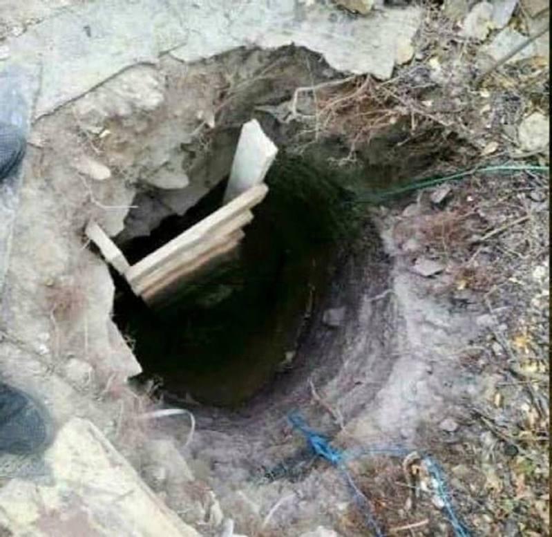 烏克蘭這名媽媽為了助兒子逃獄,用了3周時間挖出一條約3米深、10米長的地道。圖擷自《每日郵報》