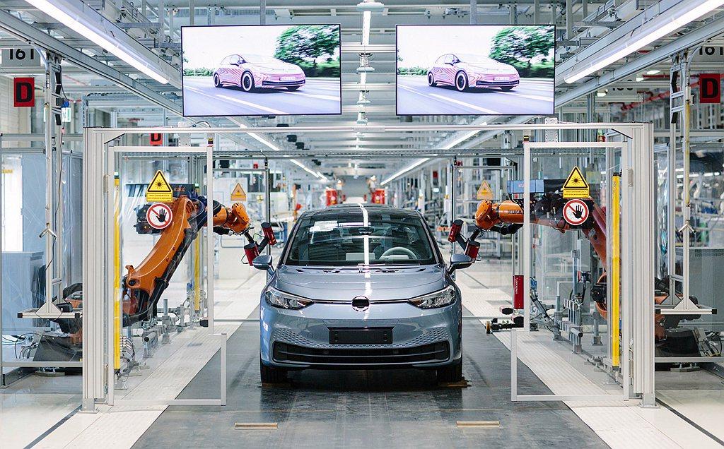 福斯推動系統變革,持續積極擴展各廠區快速轉型成電動車工廠,繼茲威考廠區後,另一生...