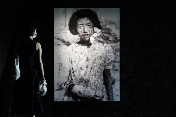 圖為廣島原爆紀念館展覽。