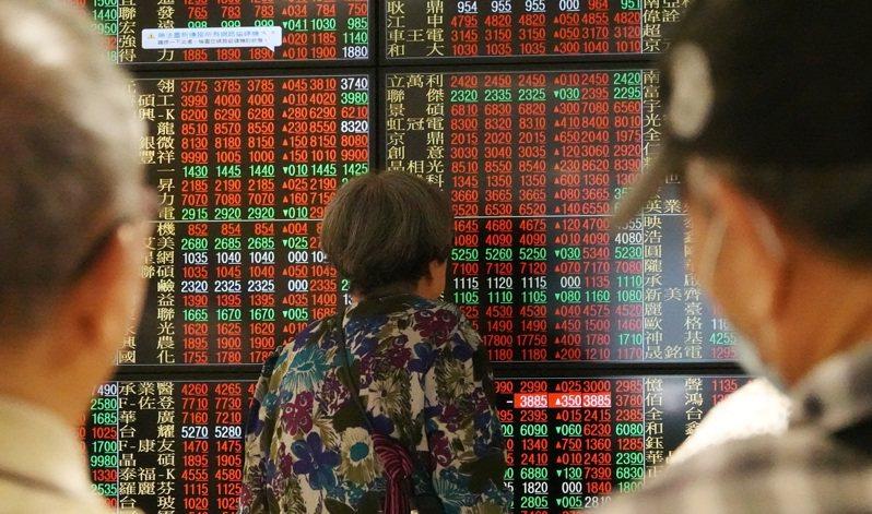 台股今日開盤為12,894.24點,上漲91.94點。 圖/聯合報系資料照片
