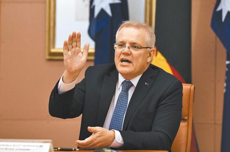 澳洲總理莫里森(圖)表態稱,沒有證據表明應該封禁TikTok。美聯社