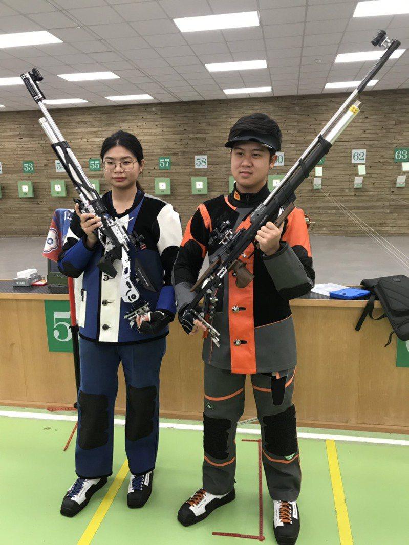 林穎欣(左)與呂紹全。 報系資料照