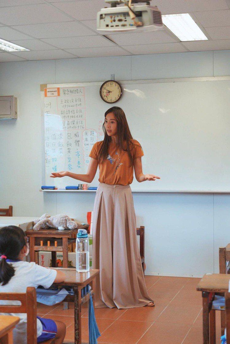 隋棠積極投入兒童性侵害防治工作。圖/摘自臉書