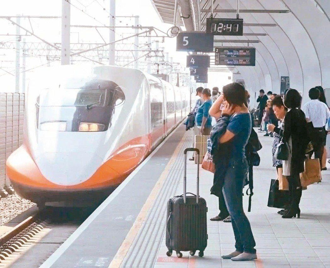 台灣高鐵公司說,目前相關做法並無改變。本報資料照片