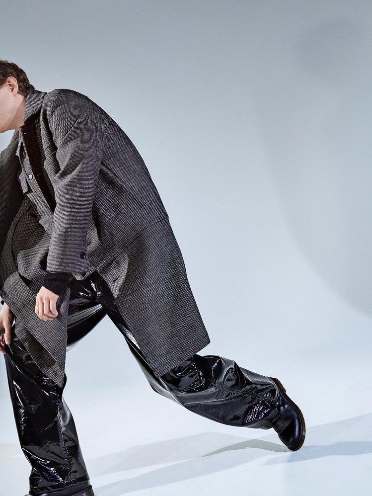 Peter Wu服裝的特色是展現設計師對每一件單品的要求。圖/Peter Wu提...
