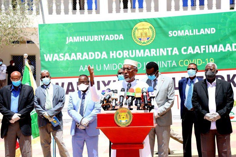 索馬利蘭總統阿布迪。圖/取自阿布迪推特