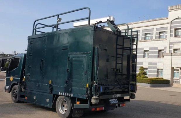 海巡署購置機動雷達車,部署在北中南東部,彌補固定岸際雷達涵蓋不到的雷達盲區。圖/本報資料照