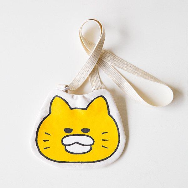 野貓軍團小型斜肩手提袋,900元。圖/誠品提供