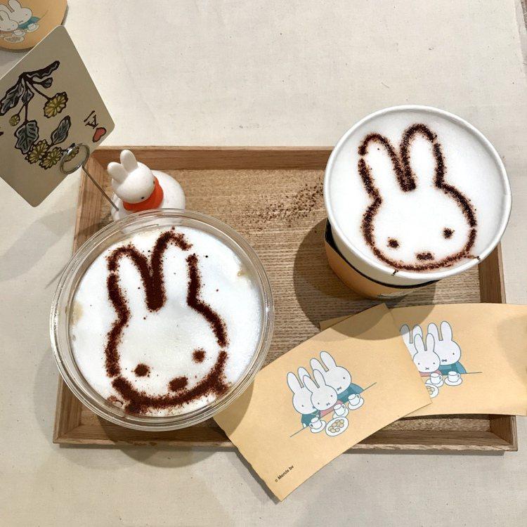 「猿田彥 X miffy」推出「米飛的咖啡加牛奶」、「米飛喝可可」兩款miffy...