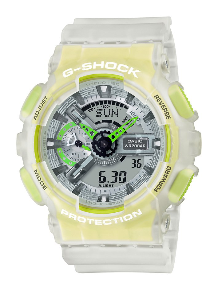 G-SHOCK GA-110LS-7A腕表4,300元。圖/CASIO提供