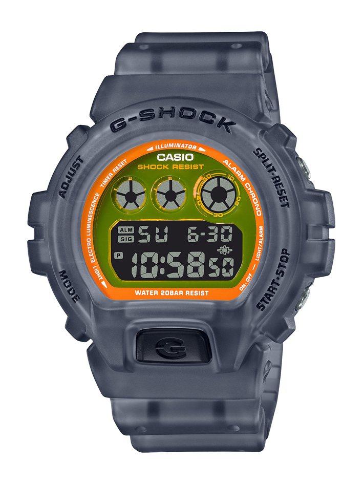 G-SHOCK DW-6900LS-1腕表3,600元。圖/CASIO提供