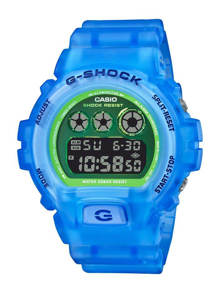 G-SHOCK DW-6900LS-2腕表3,600元。圖/CASIO提供