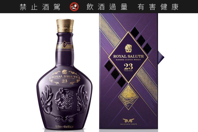 皇家禮炮是調和式威士忌當中的佼佼者,擁護者眾多。圖/保樂力加提供【未成年請勿飲酒,酒後勿開車】