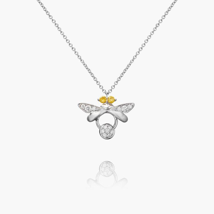 林曉同微光精靈18K金鑽石項鍊,48,000元;手鍊43,800元。圖/林曉同珠...