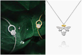 用珠寶捕捉螢火蟲的溫暖光芒 林曉同微光精靈系列新作