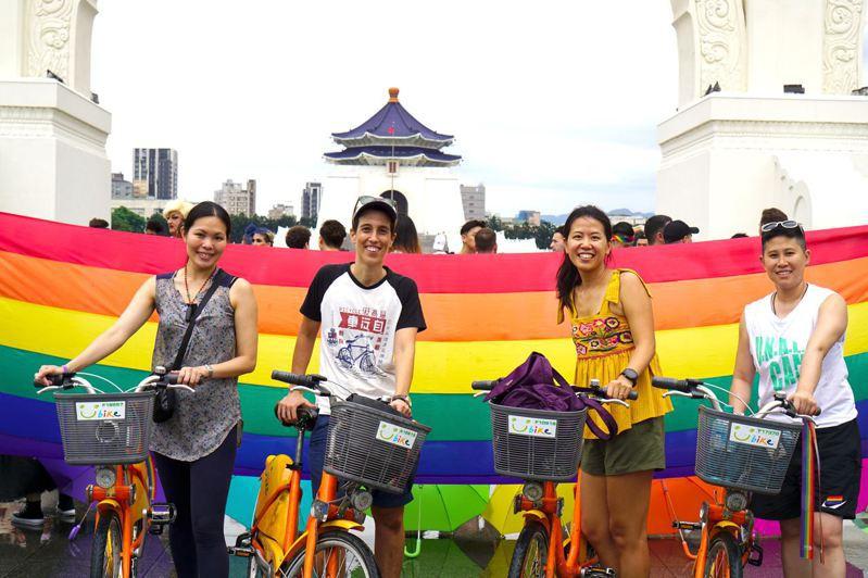 亞洲首屆「彩虹騎行」預計在今年10月24至25日舉辦。圖/亞洲彩虹騎行提供