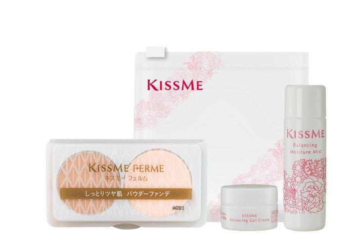 享用「KISSME小町紅下午茶」,贈送KISSME平衡調理旅行組、大人系經典彩妝...