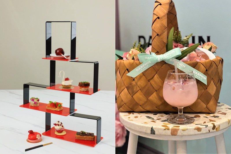 美妝保養品牌與餐飲玩跨界。圖/品牌提供