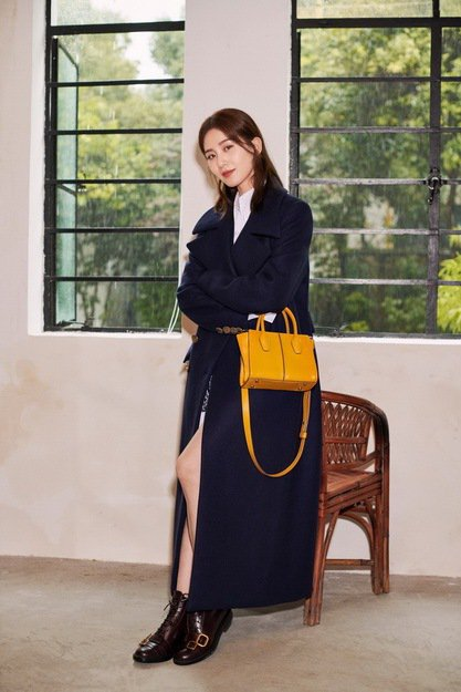 劉詩詩正式成為TOD'S品牌大使。圖/迪生提供