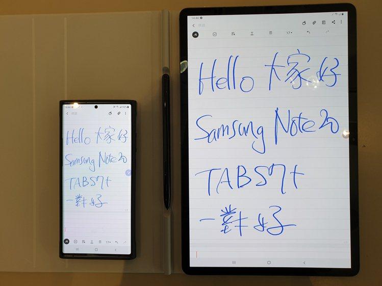 使用同一個三星帳號登入,Samsung Notes就可在手機、平板、電腦自動同步...