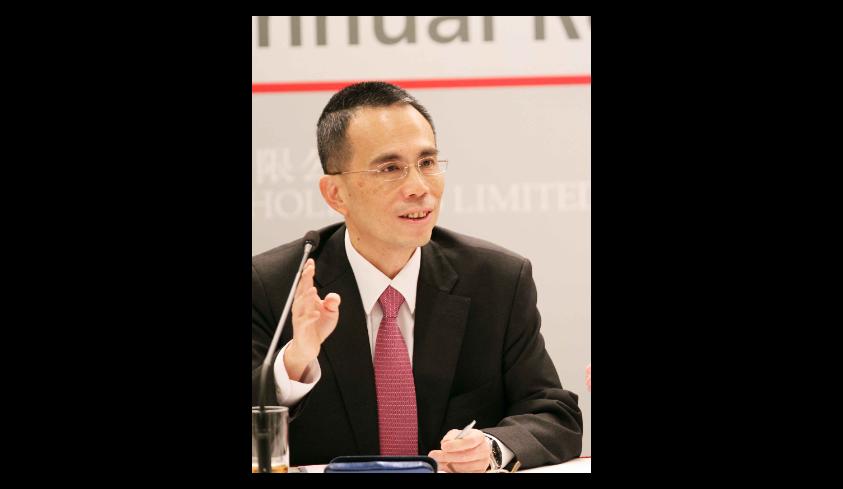 長實集團主席李澤鉅預料香港樓市長遠傾向平穩發展。(香港中通社資料照)