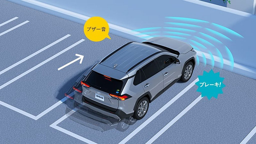 部分車型需要選配的ICS智慧型聲納偵測系統,現在則列為日規新年式Toyota R...