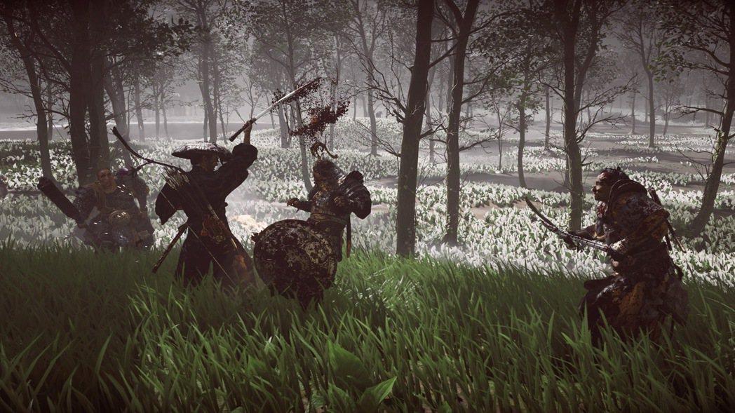 全力施展你精妙的劍術,突破蒙古勇士的圍攻吧!