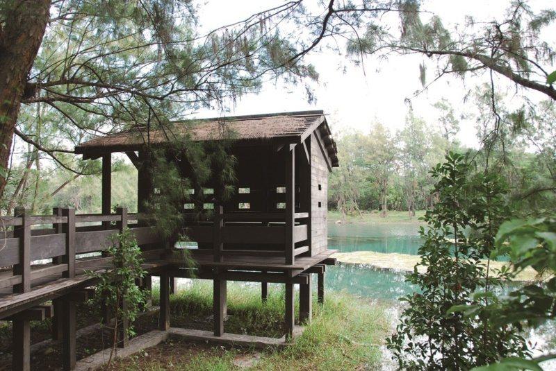 台東森林公園。 圖/廖秀靜、張雅靜攝影