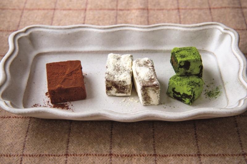 親手製作的減醣巧克力甜點。 圖/台灣角川提供