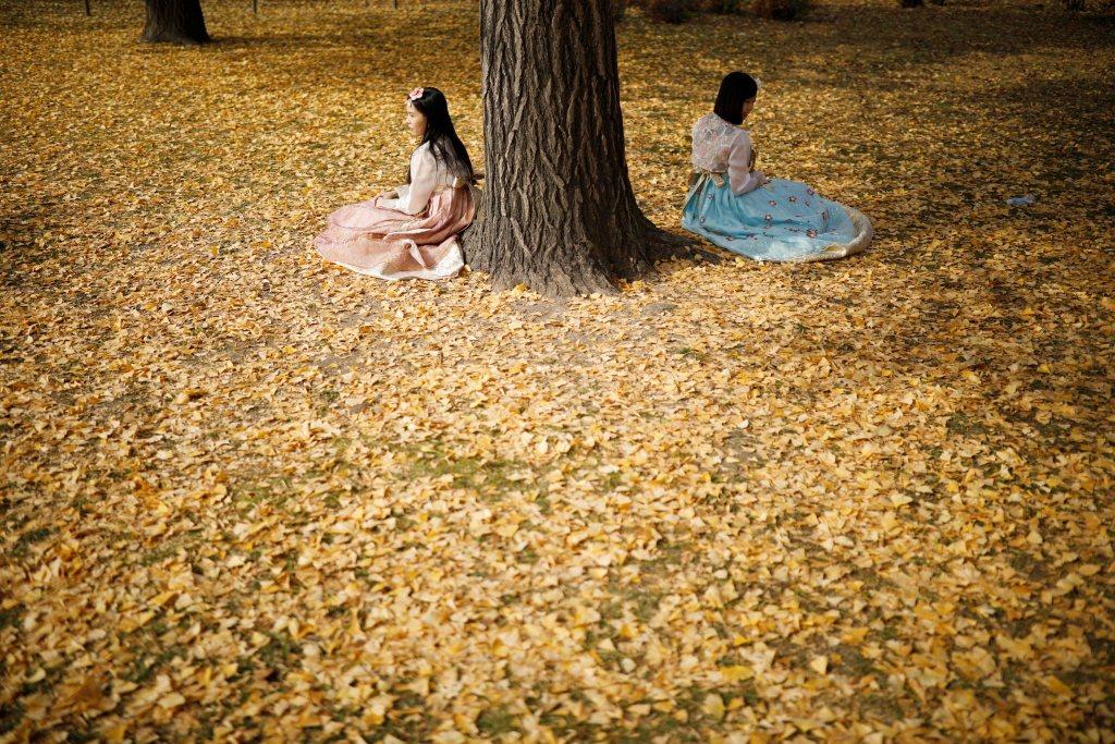 南韓社會深受儒家思想影響,性別秩序明確,男女二元有別。 圖/路透社