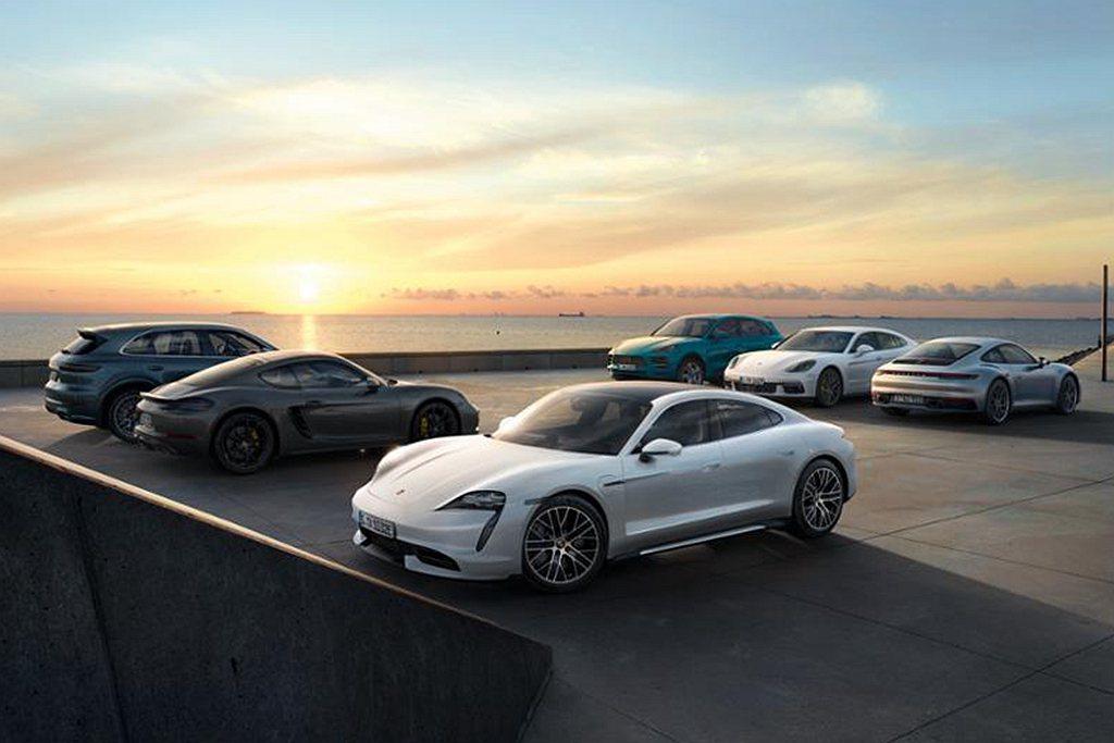德國跑車廠保時捷,2020年上半年獲利達12億歐元。 圖/Porsche提供