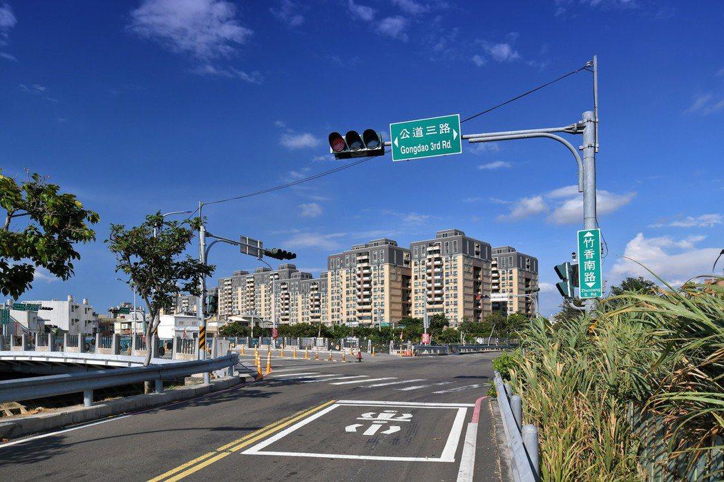 公道三工程預計於2021年底完工,完工後可做為省道台1線的替代道路