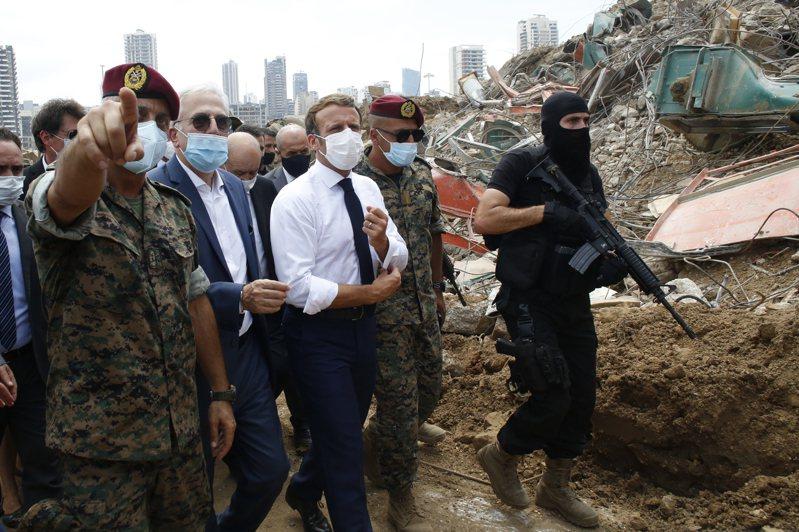 貝魯特爆炸137死逾5000傷 法國醫療伸援馬克宏抵黎巴嫩 美聯社