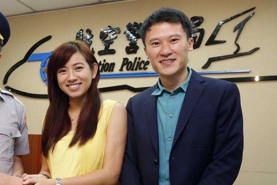 米可白(左)與謝銘杰結束6年婚姻。圖/聯合報系資料照