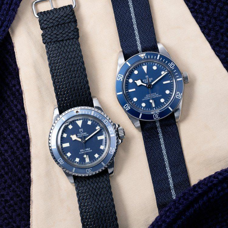 TUDOR今年的新款Black Bay Fifty-Eight Navy Blu...